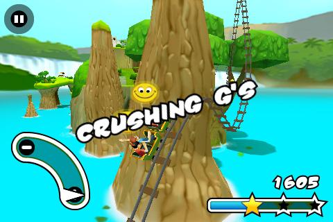 Screenshot Jurassic 3D Rollercoaster Rush 2 FREE